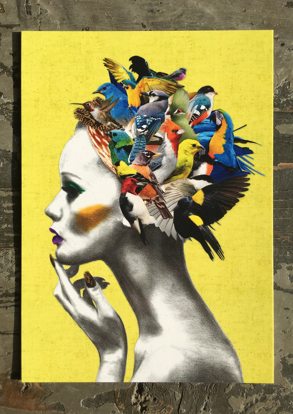 Bird Girl Postcard | Ellie Vandoorne