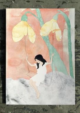 Snowdrop Pixie Postcard