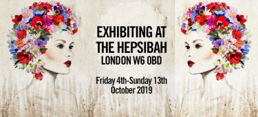 At the Hepsibah Gallery 4th-13th October 2019