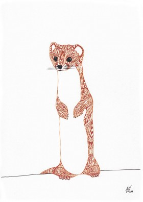 Weasel Limited Edition Print