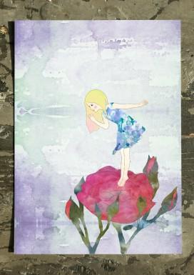 Rose Pixie Postcard